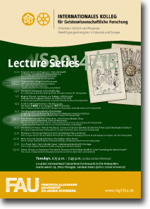 Lecture Series Winter 2014/2015