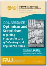 Optimism and Scepticism regarding Progress in Late 19th-Century and Republican China II