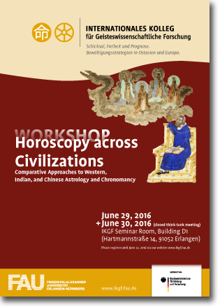 Workshop - Horoscopy across Civilizations: Comparative Approaches to